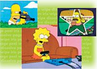 Homer Simpson - Star Wipe